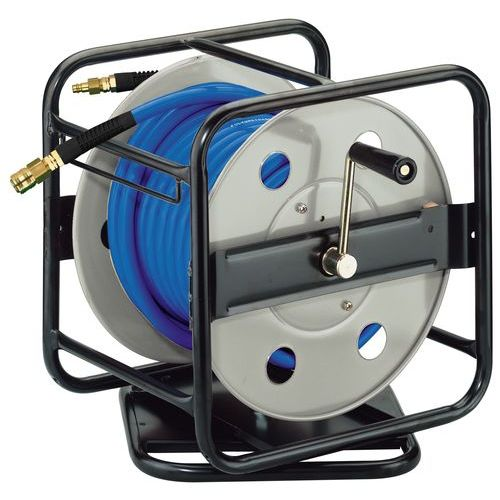 hose reel / retractable / hand crank / fixed