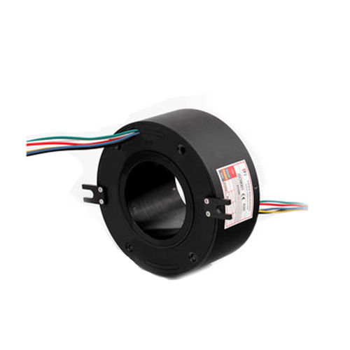 electric slip ring / through-bore / for industrial applications / for packaging