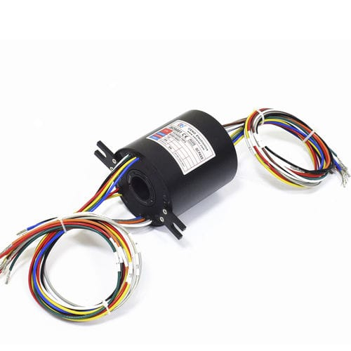 electric slip ring / hollow-shaft / for marine applications / for measurement instruments