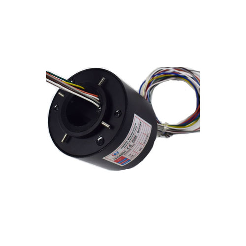 electric slip ring / through-hole / for motors / for wind turbines