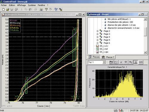 programming software / statistical process control (SPC) / optimization / PLC