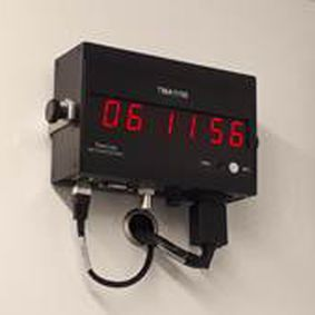 wall-mounted display - TimeLink microsystems