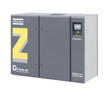 Air compressor / stationary / electrically-powered / screw ZR, ZT 22-37-55 VSD ATLAS Copco Compressors USA
