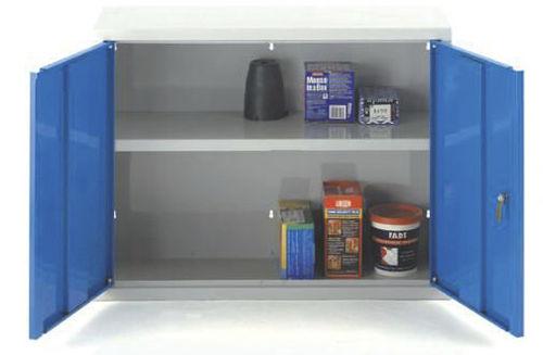 wall cabinet / storage / double-door / shelf