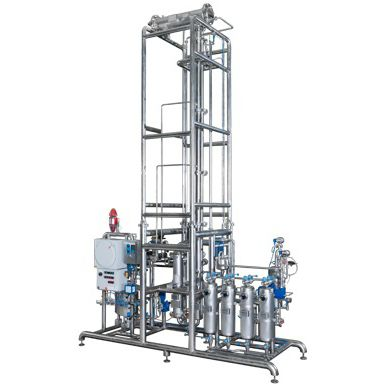 solvent distillation plant