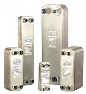 brazed plate heat exchanger / liquid/liquid / compact