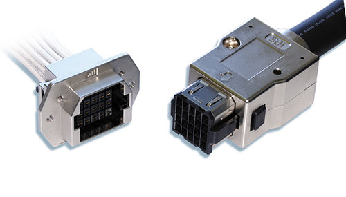 PCB connector / parallel / crimp