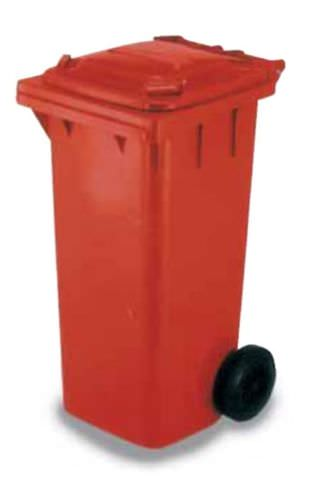Plastic waste container / for urban waste / 2-wheel CRR series SALL Srl