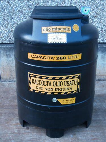 Oil tank / polyethylene / waste oil collection ECOIL series SALL Srl
