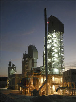 calcination furnace / tunnel / gas / CO2