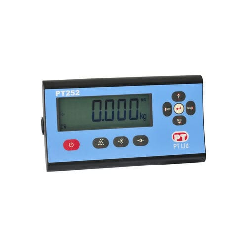 LCD display weight indicator / panel-mount / programmable PT252 series PT Limited