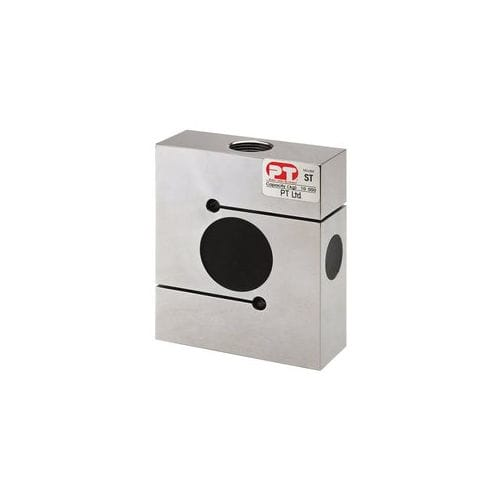 tension/compression load cell / S-beam / steel / nickel-plated