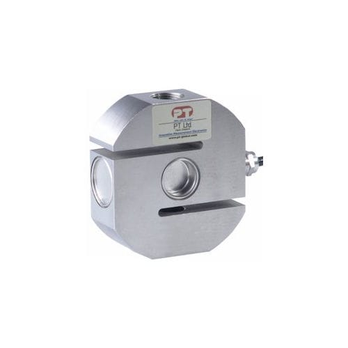 tension/compression load cell / S-beam / compact / stainless steel