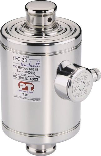 Compression load cell / canister / high-precision / stainless steel HPC series  PT Limited