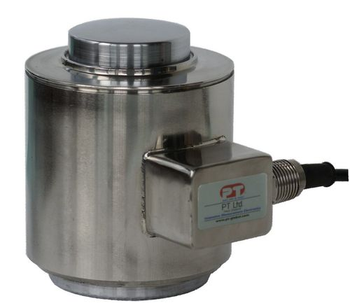 Compression load cell / canister / high-precision / stainless steel HCC series  PT Limited