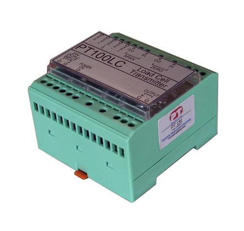 Load cell signal conditioner / DIN rail / analog PT100LC PT Limited