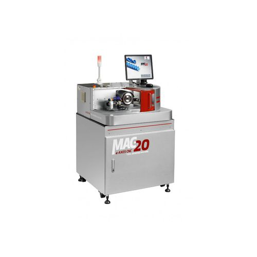 tool grinding machine / glass / automatic / precision
