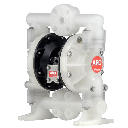 double-diaphragm pump / water / pneumatic / industrial