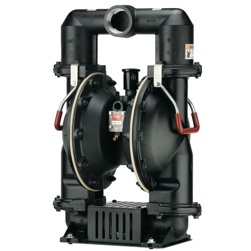 double-diaphragm pump / for food products / pneumatic / industrial