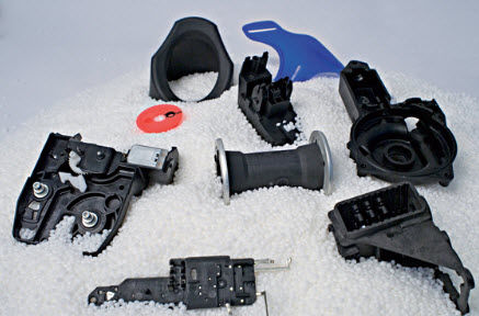 ABS plastic injection molding / technical parts / small series