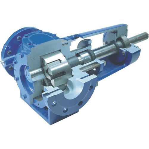 Grease pump / fuel / internal-gear / for petrochemical applications PD DESMI Pumping Technology A/S