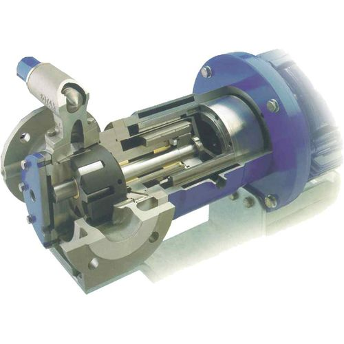 Resin pump / for solvents / magnetic-drive / internal-gear ED DESMI Pumping Technology A/S