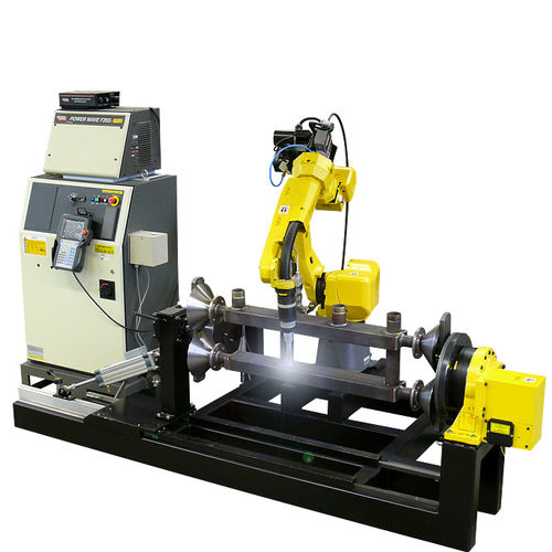 articulated robot / 5-axis / arc welding / spot welding
