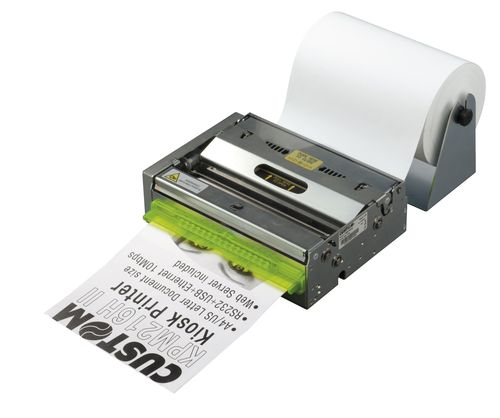 Direct thermal printer / built-in / barcode label 210 - 216 mm, max. 180 mm/s | KPM216HII CUSTOM ENGINEERING SPA