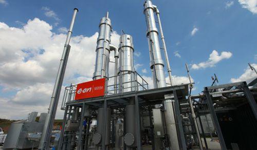 Biogas plant HAASE Energietechnik AG & Co. KG