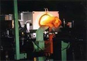 ledge heating system / for billets / ferromagnetic