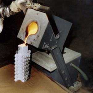melting furnace / chamber / induction