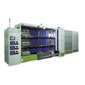 oxidation furnace / bell / electric / horizontal