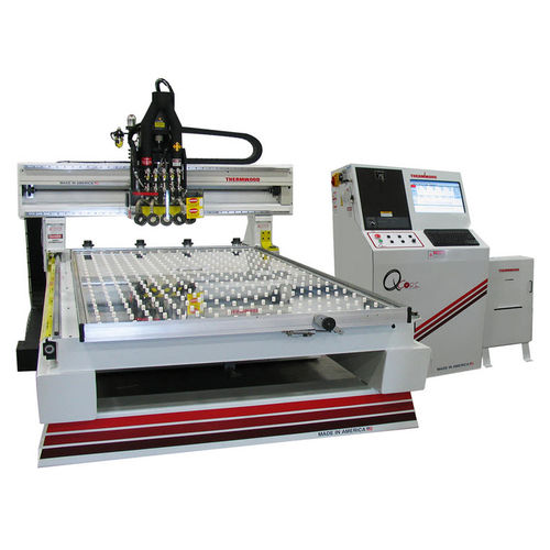 CNC router / 3-axis / multi-spindle / steel