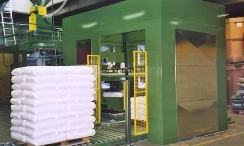 Gantry palletizer / bag / robotic 400 - 500 U/h | PM 400, 500 Ehcolo A/S