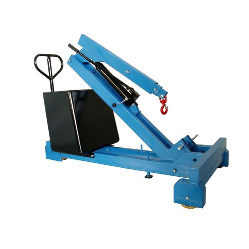 crane with counterweight / mobile / folding / hydraulic