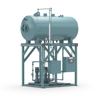 storage tank / for water / condensate / for boilers