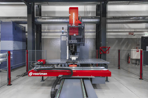Hydraulic punching press / sheet metal / drilling Voortman V200 Voortman Steel Machinery
