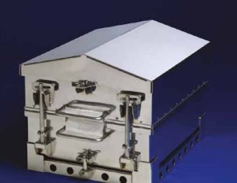 High-temperature shield / for temperature dataloggers 20 channels Datapaq Ltd