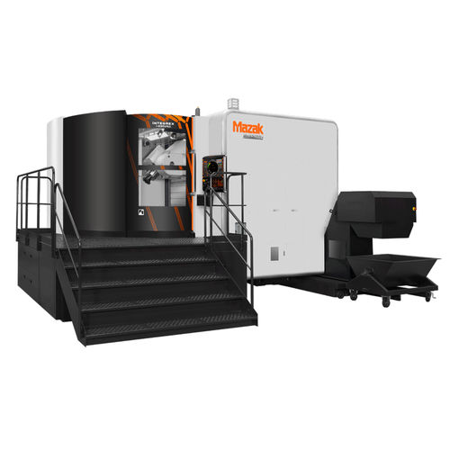 CNC turning center / vertical / 5-axis / high-productivity