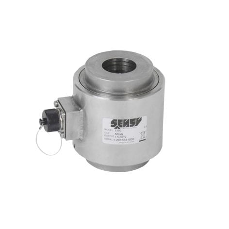 compression load cell / stainless steel / through-hole / explosion-proof