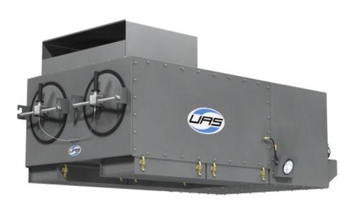 cartridge dust collector / pulse-jet backflow / ceiling-mount