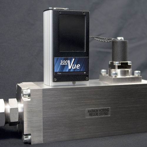 thermal flow meter / for gas / open-channel / digital