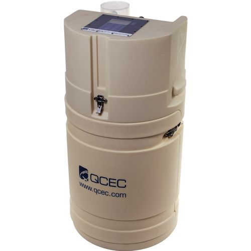 wastewater sampler / vacuum / composite / portable
