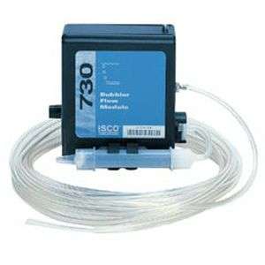 bubbler flow meter / for air / portable / open-channel