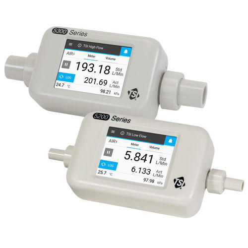mass flow meter / thermal / differential pressure / digital