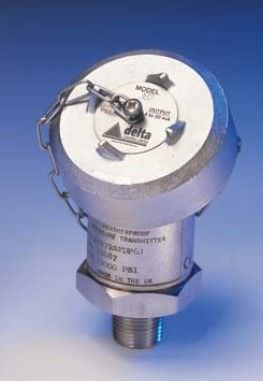 relative pressure transmitter / membrane / with analog output / compact