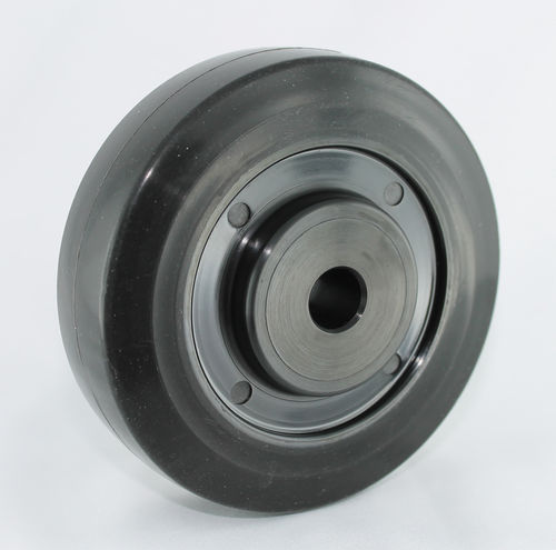 Wheel with solid tire / synthetic fiber / heat-resistant ø 80 - 100 mm, max. 260 °C, 100 - 120 kg | Ditherm RHT DC Di Candia Ruote