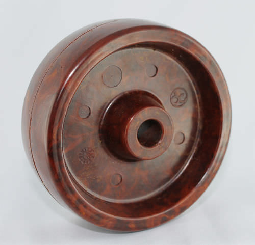 Monobloc wheel / synthetic fiber / heat-resistant ø 100 - 200 mm, max. 400 °C, 250 - 1000 kg | Ditherm XTW DC Di Candia Ruote