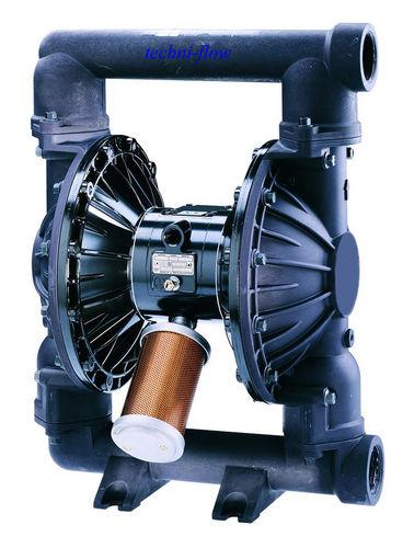 solvent pump / paint / pneumatic / double-diaphragm