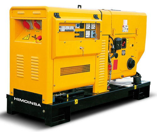 Diesel generator set / three-phase / 50 Hz / air-cooled HZA1-30C T5   HIMOINSA
